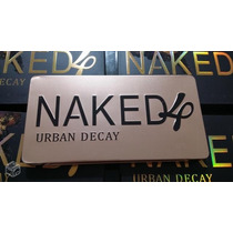Paleta De Sombras Naked 4 Urban Decay + Grátis Lápis Mac