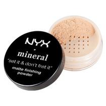 Base Pó Finalizador Mineral Matte Nyx Matte Finishing Powder