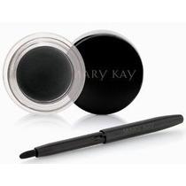 Delineador Em Gel Preto Black Mary Kay + Pincel - O Melhor!