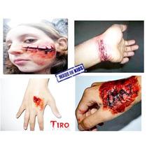 Maquiagem Do Terror De Ferimentos, Cortes - Pronta Entrega
