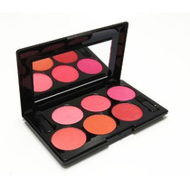 Paleta De Blush - 6 Cores - Ruby Rose (temos Mac E Nyx )