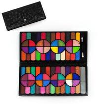 Kit De Maquiagem Macrilan/jasmyne 3d 80 Sombras 3d+ Brinde !
