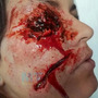Kit Maquiagem Do Terror Slug Para Feridas Hematomas Sangue