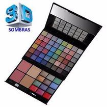 Kit Maquiagem Luisance 3d Ma653 48 Sombras
