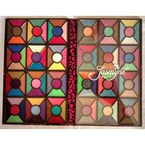 Paleta De Sombras 3d Com 120 Cores Jasmyne Cr9560