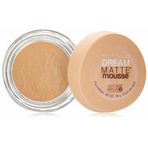 Base Maybelline Dream Matte Mousse - Medium 0 Light Beige