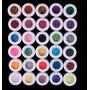 30 Cores Glitter Kit Pacote Glitter Maquiagem Carnaval+mimo!