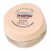 Base Maybelline Dream Matte Mousse - Medium 2 Pure Beige