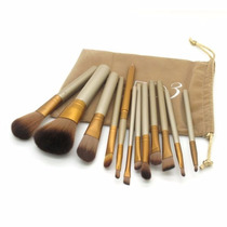 Kit Pincel Maquiagem Naked 3 Com 12 Pincéis Pronta Entrega