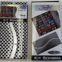 Kit Sombras Jasmine 3d C/96 Cores
