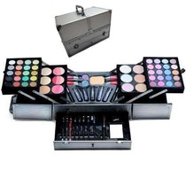 Maleta De Maquiagem Jasmyne Grande Kit Profissional Completa