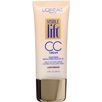 Cc Cream Loreal Visible Lift Light/medium