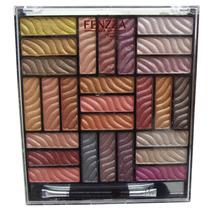 Kit Maquiagem Paleta De Sombras 3d Estojo 27 Cores Glamour