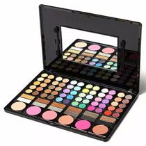Paleta De Sombras 78 Cores - Maquiagem Profissional