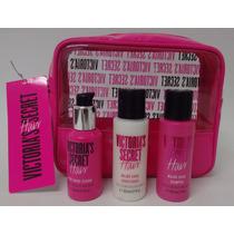 Victoria Secret Major Shine Kit Necessaire Com 3 Produtos