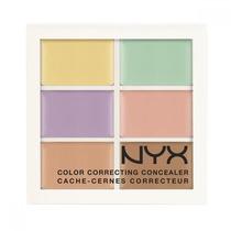 Paleta De Corretivo Nyx Correct Concealer 3cp04 Colorido