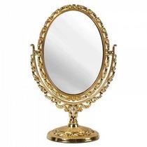 Espelho De Mesa Maquiagem Retro Com Aumento Kit Princesas