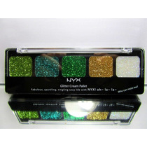 Sombra Glitter Cream Pallet Nyx (fresh Greens) - Original
