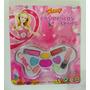 Kit Maquiagem Infantil Borboleta Fanny Pacote Com 10 Un