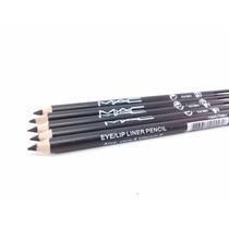 Lápis De Olho Mac Delinador Preto Kit 5 Unidades Maquiagem