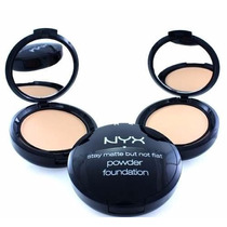 Pó Compacto Nyx Hd Stay Matte But Not Flat Powder Original