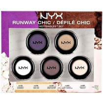 Nyx Hot Singles Kit 5 Sombras Runway Chic/defile Chic