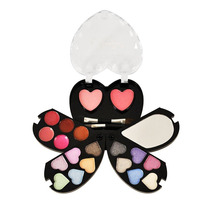 Kit Maquiagem 12 Sombras 3d- 5 Sombras Cremosa - 2 Blush