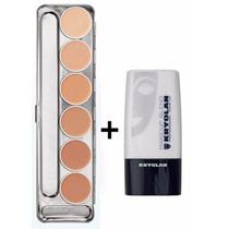 Kryolan Dermacolor Paleta Dw 6 Cores + Diluidor Makeup Blend