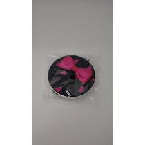 Espelho De Bolsa - Preto Com Pink