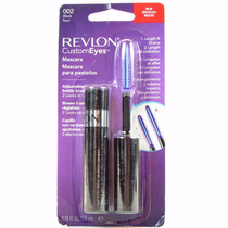 Rimel Mascara Revlon Preto Custom Eyes #002 Black Noir