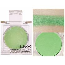 Pó Facial Nyx Primal Colors Hot Green