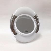 Espelho Aumento 3x Dupla Face Com Luz Led De Mesa