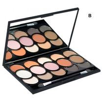Paleta Sombra Matte Nude Fosca 15 Cores Fantastic Luisance B