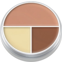 Ultra Foundation Trio Modelo B - Kryolan Pronta Entrega