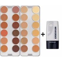 Makeup Blend Diluidor + Paleta 24 Cores K - Kryolan