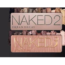 Kit 2 Paletas Urban Decay - Naked 2 + Naked 3 Pronta Entrega