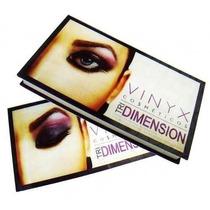 O Estojo Sombra Vinyx 3d Maquiagem Make Up
