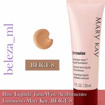 Base Líquida Timewise Mary Kay Acabamento Matte Beige 8