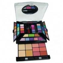 Kit De Maquiagem 3d Luisance Com 52 Cores Ma-646 -