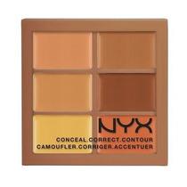 Nyx Paleta Profissional Conceal Correct Contour 3cp03 Deep
