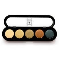 Paleta De Sombra Makeup Atelier Paris(kit Com 3 Paletas)