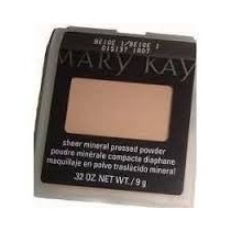 Mary Kay Pó Compacto Mineral Beige 1
