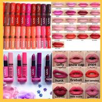 Batom Nyx Butter Lipstick Atacado 15 Batons