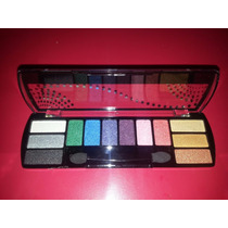 Kit Sombras Mac Cintilante Make Up 10 Cores Linda