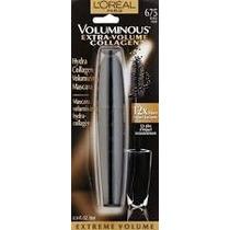 Rimel Loreal Voluminous Extra Volume Collagen Blacknoir 675