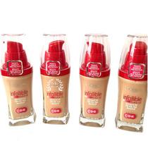 Base Loreal Paris Infallible Make-up Cor Natural Buff (606)