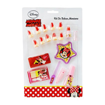 Kit Manicure Infantil Minnie Disney Original - Toyng