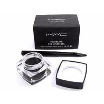 Delineador Mac - Fluidline Eye Liner Gel + Pincel Grátis!