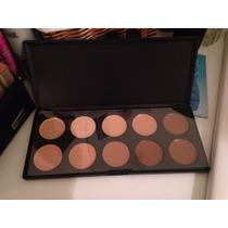 Paleta De Corretivos Maquiagem 10 Cores - P10 = Mac Sigma