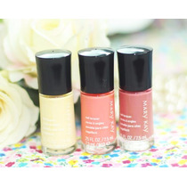 Mary Kay - Kit De Esmaltes Com 3 Unidades - Hello Sunshine